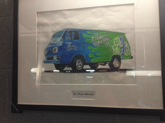 Steam Whistle Brewery : Pictures of some of their vehicles