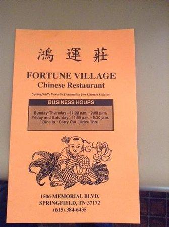 Fortune Village