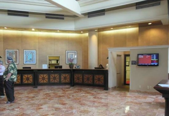 Sheraton Atlanta Airport Hotel: Reception and check-in