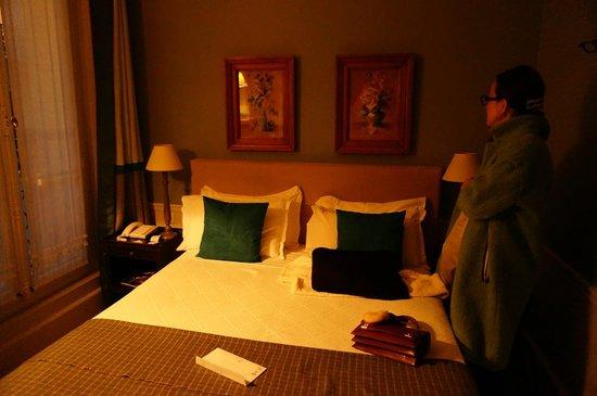 Hotel Sainte Beuve : 部屋
