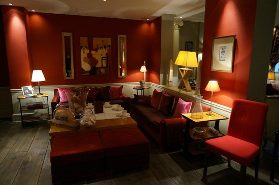 Hotel Sainte Beuve : ロビー