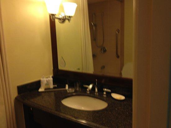 Ascott Makati: 2nd Bath with shower stall