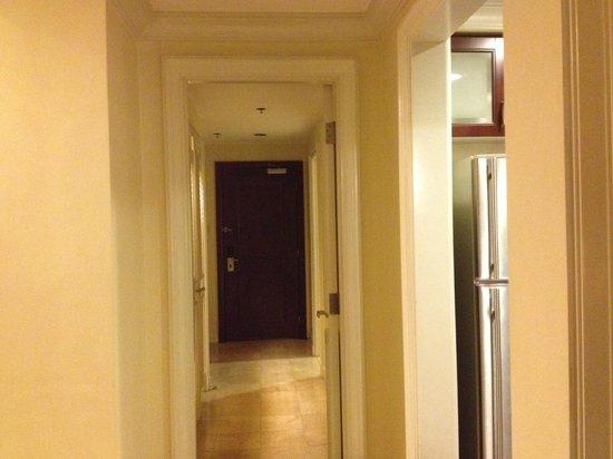 Ascott Makati: Hallway leading to Maid's Quarters