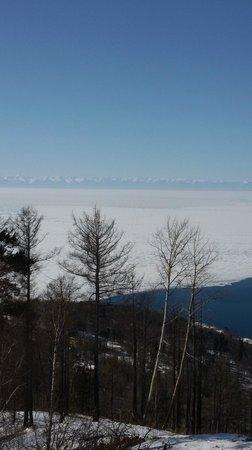Lake Baikal: Хамар-Дабан на другой стороне Байкала