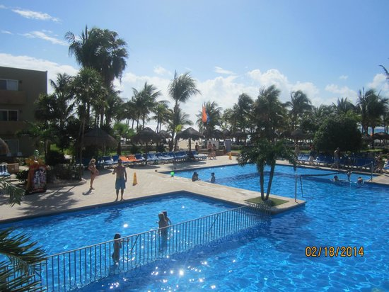 Viva Wyndham Azteca : the pool