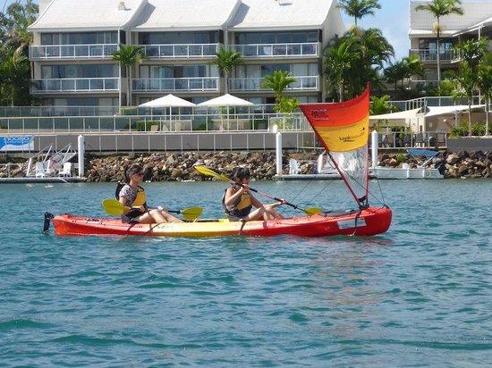 Kayak Noosa: Kayaking on the river