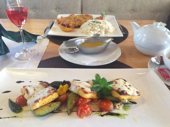 Dorfkrug - Gasthof . Restaurant . Appartements : Polenta and veggies