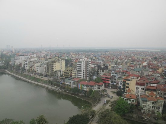 Sheraton Hanoi Hotel: view from hotel room