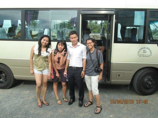 The Sinh Tourist Day Tours: With one of our guide, Quang