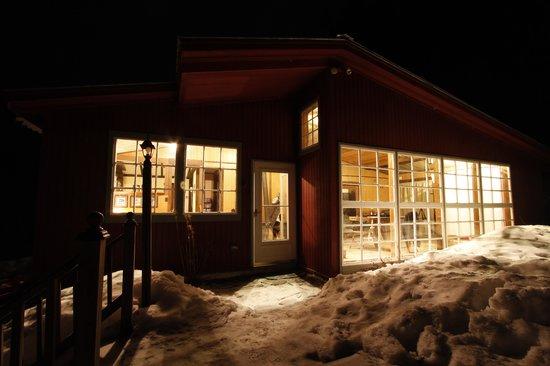 Whitingham, VT : Main house at night
