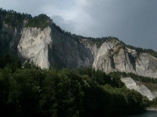 Aussichtsplattform Il Spir Conn: Rheinschlucht