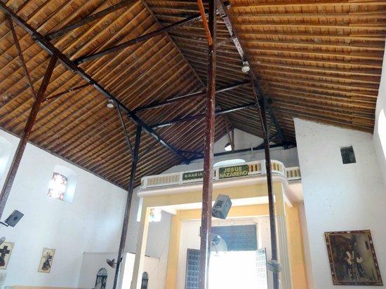 Black Christ: Church ceiling
