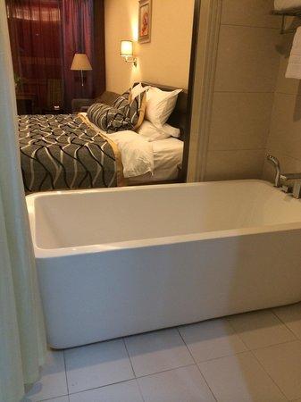Jingzhou International Hotel: Bath