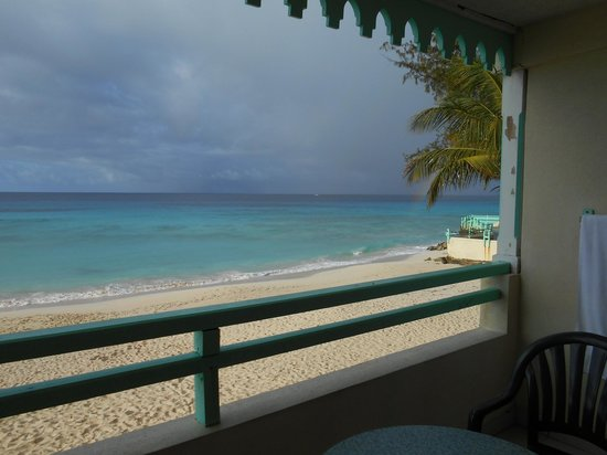Coral Mist Beach Hotel: View from Room 209