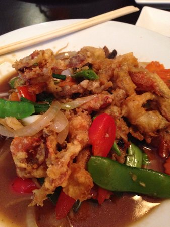 Thai Korner: Soft Shell Crab with Ginger sauce