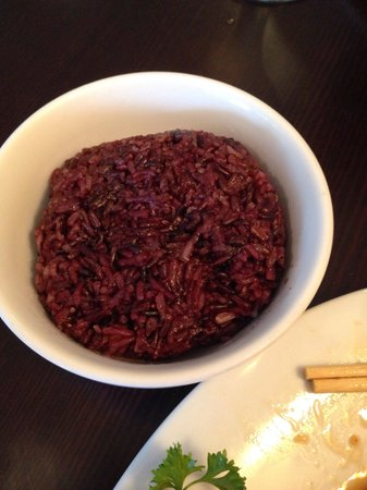 Thai Korner: Black Rice- try it!
