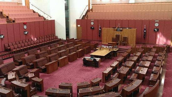 Australian Parliament House: The Senate