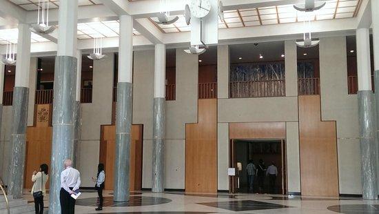 Australian Parliament House: The Foyer