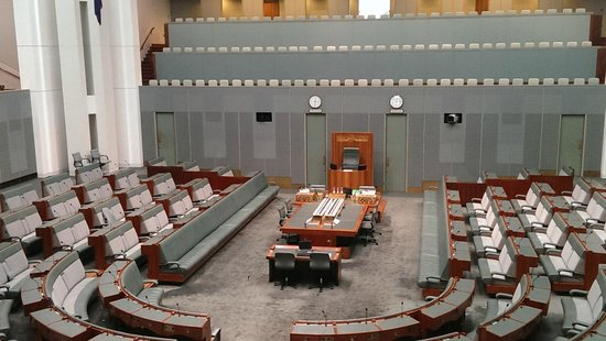 Australian Parliament House: The House of Representatives