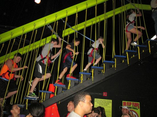 WonderWorks: Rope walking in the sky