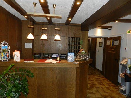 Hotel-Restaurant Sebastianushof: Ресепшн