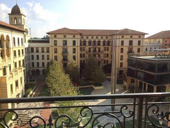Southern Sun Montecasino: View from my room