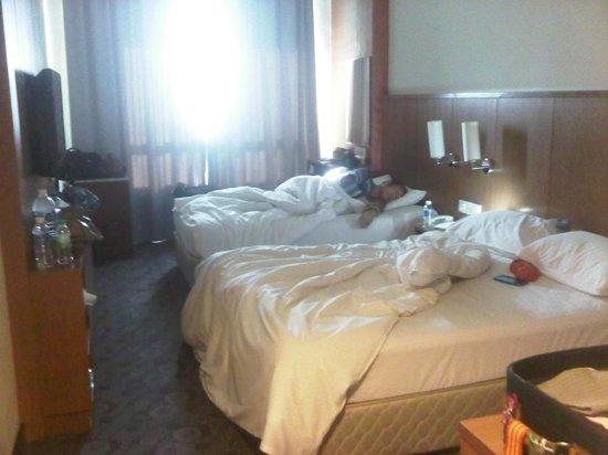 Cititel Express Kota Kinabalu: triple room on 12th floor