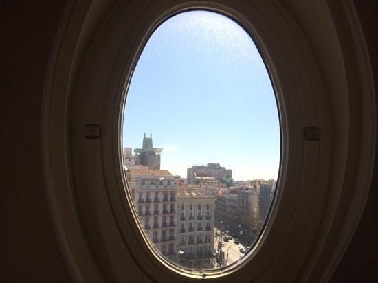 Hotel Sardinero Madrid: muy buenas vistas
