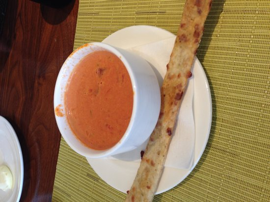 McCoy's Bar & Grill: Tomato bisque