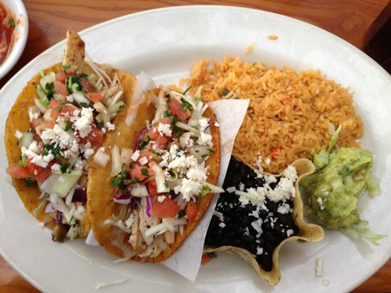 Frontera Grill: Street tacos as they come!