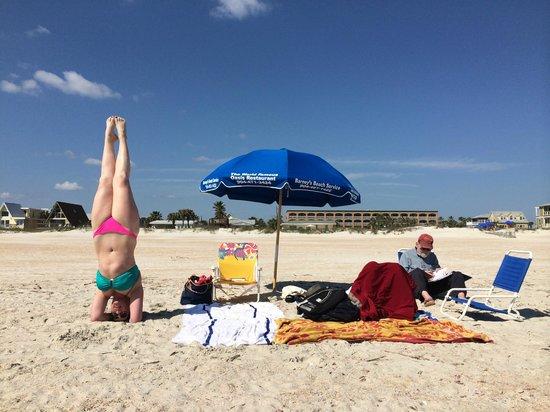 Hampton Inn St. Augustine Beach: Hmapton is in background