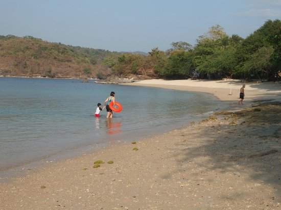 Club Punta Fuego: lower beach