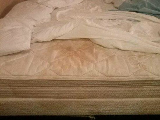 Motel 6 Oklahoma City: Disgusting mattress