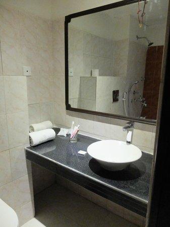 Camellia Hotel & Resort: 洗面所