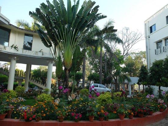 Camellia Hotel & Resort : 正面入口付近