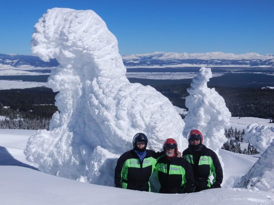 Tour Package To Two Top Mt Snowmobiling Picture Of Three Bear Lodge West Yellowstone Tripadvisor