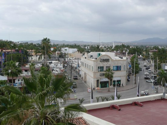 Tesoro Los Cabos: view of downtown from 5th floor of resort
