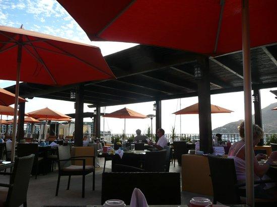 Tesoro Los Cabos: breakfast buffet view