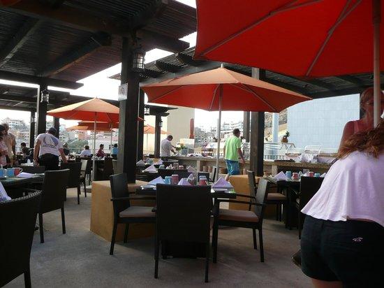 Tesoro Los Cabos: breakfast buffet