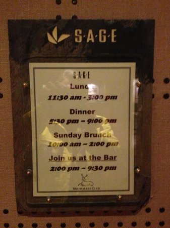 Sage Restaurant & Patio