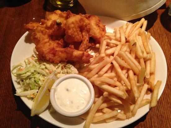 VI Restaurant & Bar: Shrimp & Chips