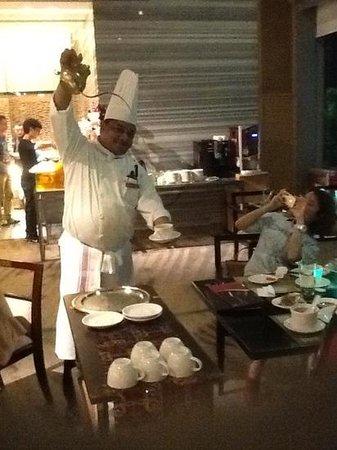 Crowne Plaza Guangzhou Huadu : Chef Sankar at his best