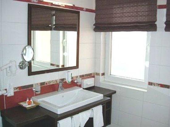 Hotel Alexandra: Badezimmer