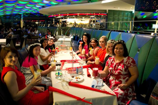 Hen Night at the Skyview Bar