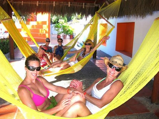 Meliá Vacation Club Puerto Vallarta: Picturesque hammocks