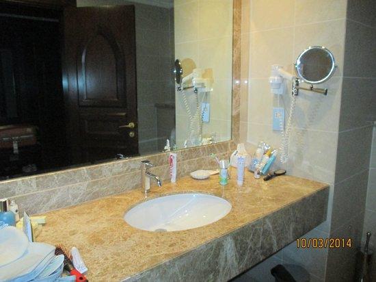 Miramar Al Aqah Beach Resort: раковина