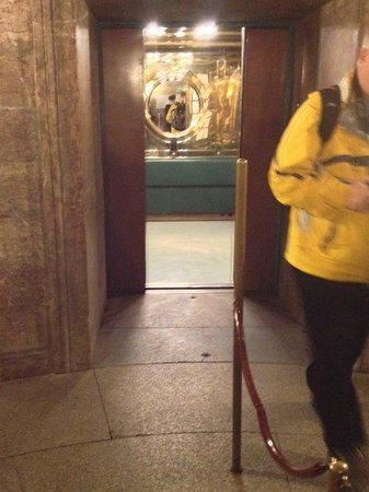 The Eagle's Nest: View into elevator