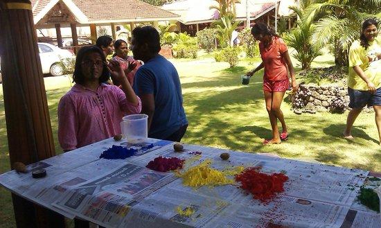 Club Mahindra Kumarakom: Celebrating Holi - Colour Festival