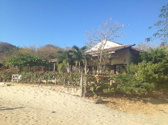 La Veranera - Playa El Coco: view of la veranera from the beach