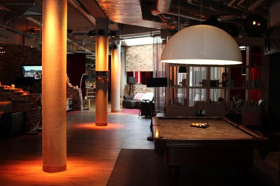 pentahotel Berlin-Potsdam: Lounge